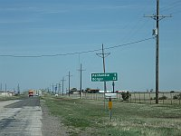 USA - Conway TX - Sign to unusual places (20 Apr 2009)