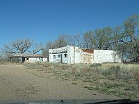USA - Glenrio TX - Abandoned Gas & Service Centre (21 Apr 2009)