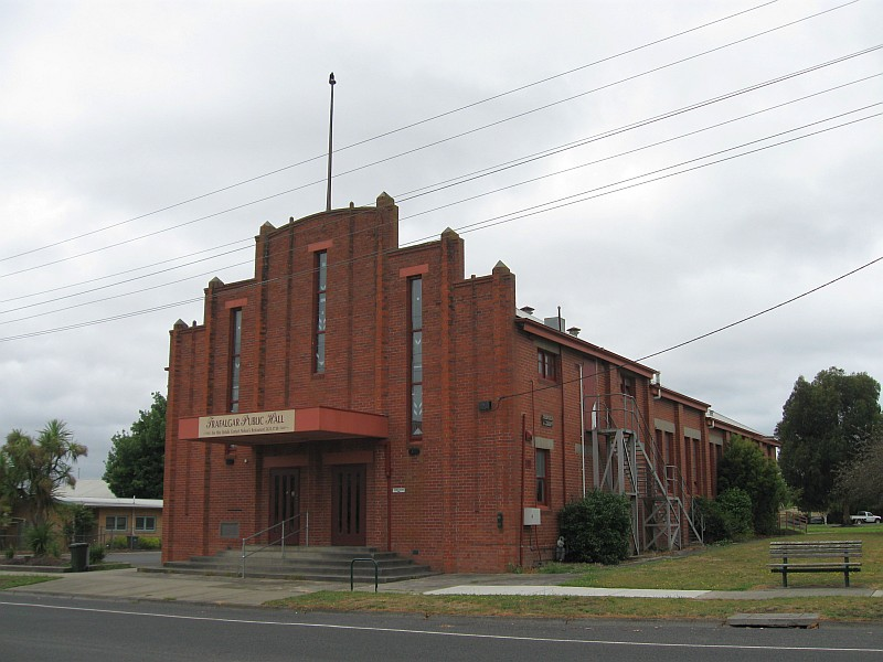 Trafalgar East Australia  City pictures : Vic Trafalgar Public Hall former 1930s Ideal Picture Theatre 6 ...