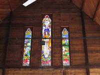 Allora - St Davids Anglican Church Rear Stained Glass Windows