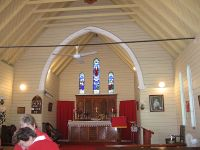 Interior of Marburg All Saints Anglican Church