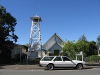 Rosewood - Belltower Outside Uniting Church