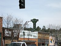 USA - Flagstaff AZ - Grand Canyon Cafe & Neon Sign (27 Apr 2009)