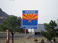 USA - Lupton AZ - Welcome to Arizona (24 Apr 2009)