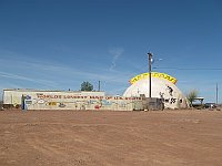 USA - Meteor City AZ - Closed Trading Post & Route 66 Map (27 Apr 2009)