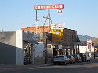 USA - Williams AZ - Canyon Club & Neon Sign (26 Apr 2009)