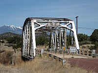 USA - Winona AZ - Old Bridge & View to Mt Taylor (27 Apr 2009)