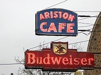 USA - Litchfield IL - Ariston Cafe Sign (10 Apr 2009)