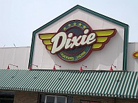 USA - McLean IL - Dixie Truckers Plaza Diner (Former Dixie Truckers Home) Sign 2 (9 Apr 2009)
