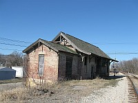 USA - Wilmington IL - Abandoned Rail Station (7 Apr 2009)