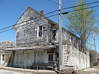 USA - Avilla MO - Long Abandoned Building (15 Apr 2009)