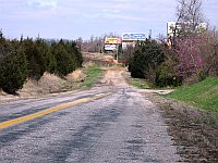 USA - Lebanon MO - Cut off Route 66 Section (14 Apr 2009)