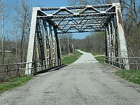 USA - Spencer MO - 1926 Thru-Truss Briidge Johnson Creek (15 Apr 2009)