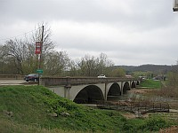 USA - Waynesville MO - 1923 Rubidoux Creek Bridge (14 Apr 2009)