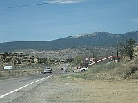 USA - Budville NM - View to Mt Taylor (24 Apr 2009)