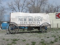 USA - Continental Divide NM - Marker (24 Apr 2009)