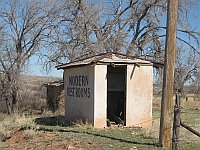 USA - Endee NM - Abandoned Tourist Complex 'Modern Rest Room' (21 Apr 2009)