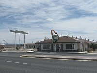 USA - Grants NM - Franciscan Lodge Motel & Neon Sign (24 Apr 2009)