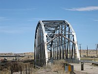 USA - Rio Puerco NM - 1933 Through Truss Bridge (24 Apr 2009)