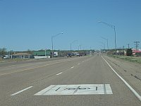 USA - Tucumcari NM - Main Street with Route 66 Sign (21 Apr 2009)