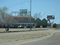 USA - Tucumcari NM - Paradise Motel Neon Sign (21 Apr 2009)