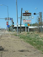 USA - Tucumcari NM - Pony Soldier Motel Neon Sign (21 Apr 2009)