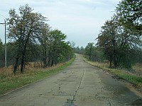 USA - Bellvue OK - Old Route 66 Loop Scenic Section (17 Apr 2009)