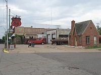 USA - Chandler OK - Restored 1930 Phillips 66 Gas Station (17 Apr 2009)