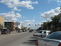 USA - Elk City OK - Main Street (19 Apr 2009)