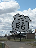 USA - Elk City OK - National Route 66 Museum (19 Apr 2009)