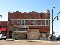 USA - Sayre OK - Abandoned Interesting Building (20 Apr 2009)