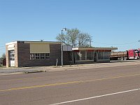 USA - Sayre OK - Abandoned Service Station (20 Apr 2009)