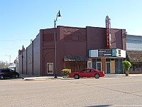 USA - Sayre OK - Abandoned Stovall Theatre (20 Apr 2009)