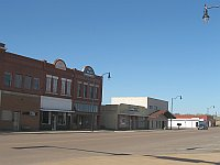 USA - Sayre OK - Main Street (20 Apr 2009)