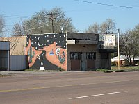 USA - Sayre OK - Route 66 Bar & Mural (20 Apr 2009)