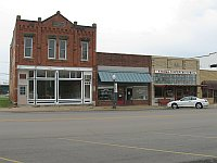 USA - Stroud OK - Main Street (17 Apr 2009)