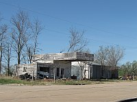 USA - Texola OK - Abandoned Gas Station (20 Apr 2009)
