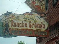 USA - Tulsa OK - Abandoned Rancho Grande Neon Sign (16 Apr 2009)