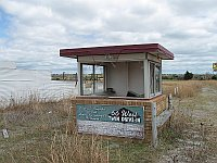 USA - Weatherford OK - Abandoned Route 66 Drive In Ticket Booth (19 Apr 2009)