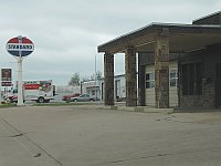 USA - Yukon OK - Old Standard Station (19 Apr 2009)