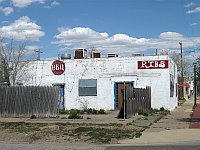 USA - Amarillo TX - Abandoned BBQ Ribs Restaurant (20 Apr 2009)