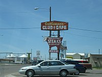 USA - Amarillo TX - Cattlemans Club & Cafe Neon Sign (20 Apr 2009)