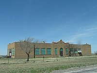 USA - Conway TX - Abandoned Large Brick Building (20 Apr 2009)