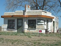 USA - Glenrio TX - Abandoned Diner (21 Apr 2009)