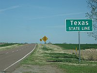 USA - Shamrock TX - State Line (20 Apr 2009)
